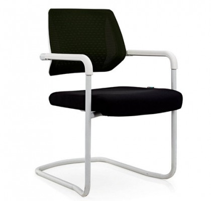 Eurotech Apollo Office Mesh Visitor Chair With Sled Base Cantilever Conference Chair