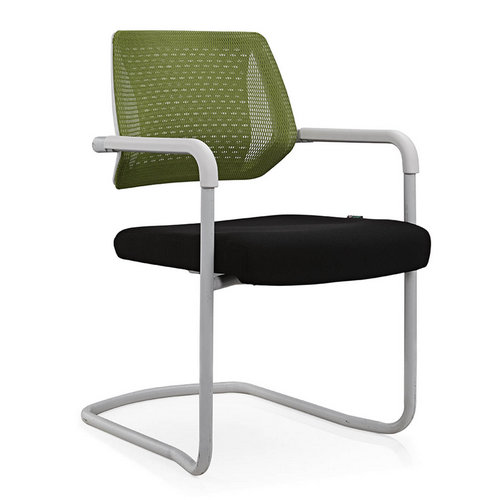 Eurotech Apollo Mesh Guest Chair With Sled Base Girsberger Yanos Cantilever Meeting Chair -2