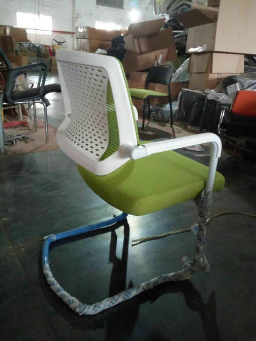 Eurotech Apollo Mesh Guest Chair With Sled Base Girsberger Yanos Cantilever Meeting Chair -5