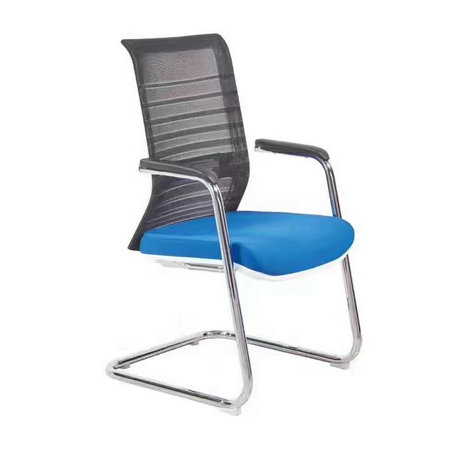 High Quality Mesh Back Office Reception Conference Cantilever Visitor Chair in Alibaba -3
